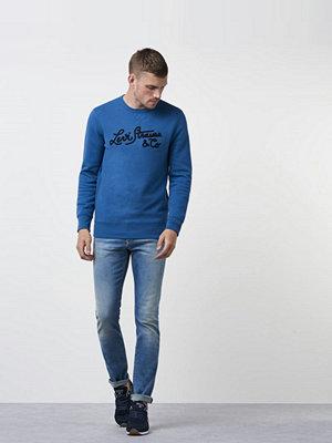 Tröjor & cardigans - Levi's Word Mark Stitch Blue