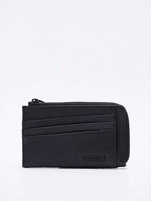 Plånböcker - Calvin Klein Adam Zip Cardholder Black