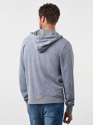 Street & luvtröjor - G-Star Core Hoodie Zip Light Grey