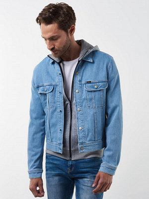 Jeansjackor - Lee Snap Jacket Bleached Stone