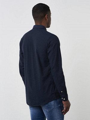 Skjortor - Minimum Pelham Shirt 689 Dark Navy