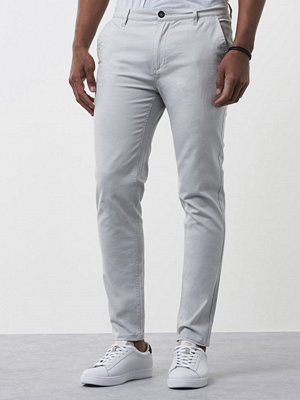 Byxor - Mouli Nick Chino Summer Grey