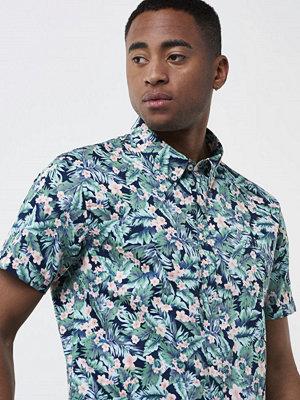 Skjortor - Mouli Delacruz Shirt Navy Flower Print