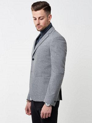 Kavajer & kostymer - Filippa K Daniel Half Lined Blazer Grey Melange