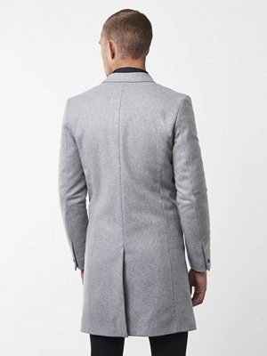 Rockar - Filippa K Ralph Wool Coat Grey Melange