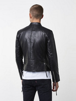 Skinnjackor - ROCKANDBLUE Ramone 0899 Black