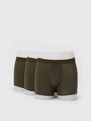 Kalsonger - Tiger of Sweden Ohlson 3-pack boxer 499 Army Green