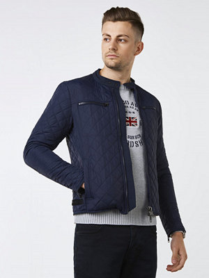 Replay RBJ Quilted Jacket Navy