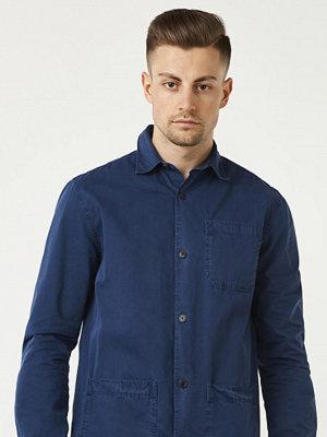Lexington Robert Worker Shirt Dress Blue