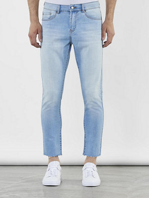 Jeans - William Baxter Ted Cropped Light Blue Raw