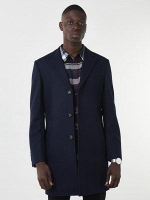 Rockar - Knowledge Cotton Apparel Wool Coat 1001 Navy