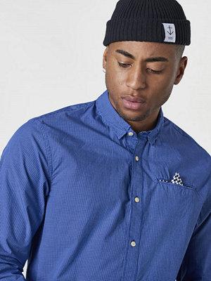 Skjortor - Scotch & Soda Classic L/S Shirt With Pocket Combo A Blue