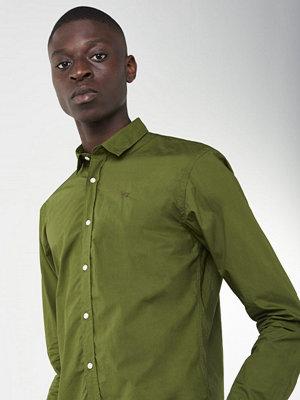 Skjortor - Scotch & Soda Classic Poplin Shirt Green