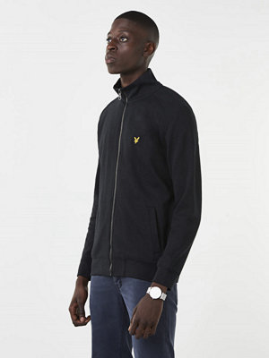 Tröjor & cardigans - Lyle & Scott Funell Neck Zip True Sweatshirt 572 True Black