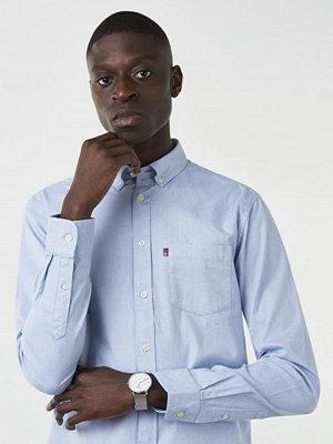 Skjortor - Lexington Kyle Oxford Shirt Faded Denim Blue