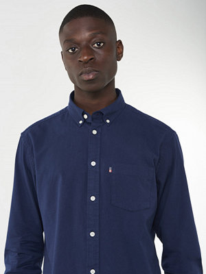 Skjortor - Lexington Kyle Oxford Shirt Deepest Blue