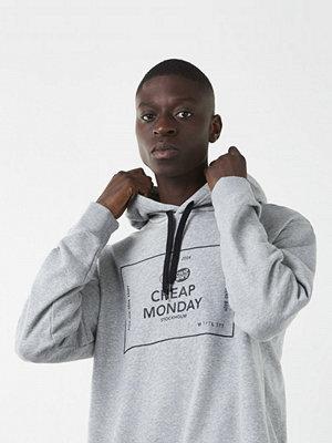 Street & luvtröjor - Cheap Monday Pullover Box Logo Greymelange