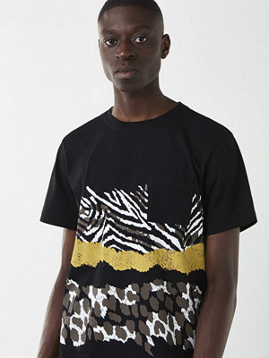 T-shirts - WESC Maxwell Animal s/s Black