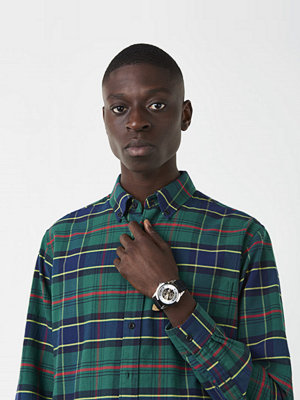 Skjortor - Hope Button Shirt Green Check