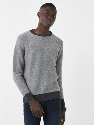 Knowledge Cotton Apparel Reverse Knit 1073 Grey