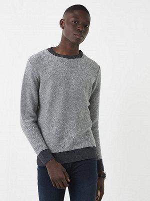 Tröjor & cardigans - Knowledge Cotton Apparel Reverse Knit 1073 Grey