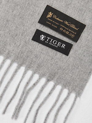 Halsdukar & scarves - Tiger of Sweden Orello M02 Light Grey