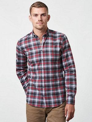 Castor by Castor Pollux Filipos Shirt Grey Check Flannel