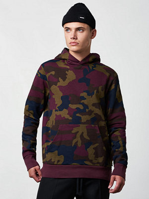 WESC Mike Camo HoodedRed Port