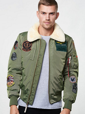 Alpha Industries Injector III Patch 01 Sage Green