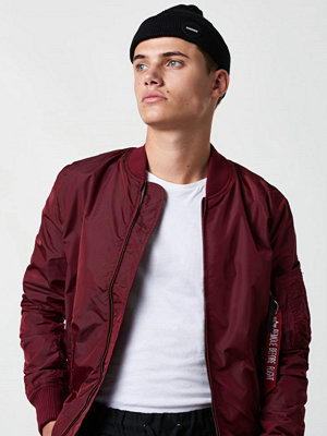 Alpha Industries MA-1 TT Bomber 184 Burgundy