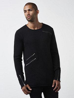 Adrian Hammond Demetrious Knitted Sweater Black