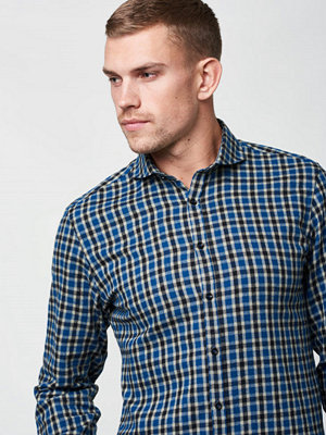 Castor by Castor Pollux Piros Shirt Green Turqoise Check Flannel