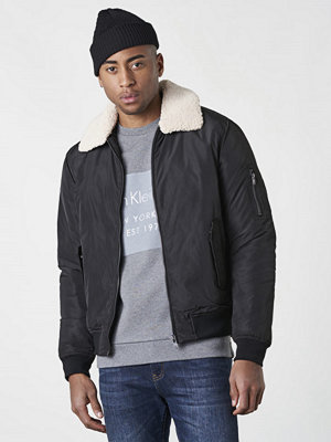 William Baxter Gary Bomber Jacket Black