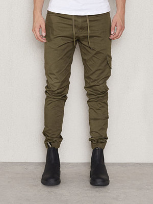 Byxor - Studio Total Collin Jogger Chinos Green