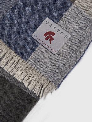 Halsdukar & scarves - Castor by Castor Pollux Checkius Grey/Green