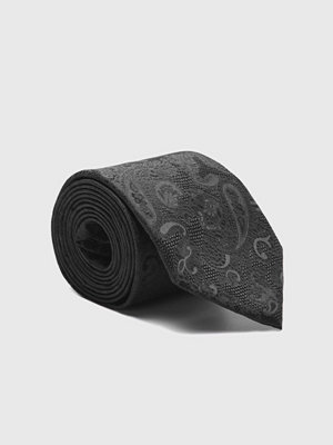 Slipsar - Amanda Christensen Tie & Hankie Box Set Black