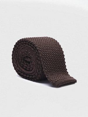 Slipsar - Amanda Christensen Black Collection 8 cm Dark Brown