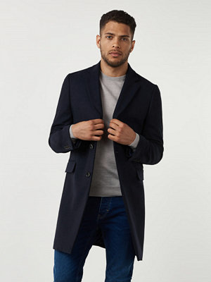 Studio Total Lambton Wool Coat Navy