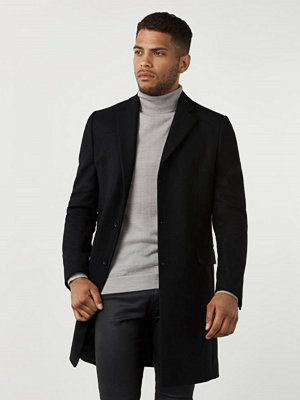 Studio Total Lambton Wool Coat Black