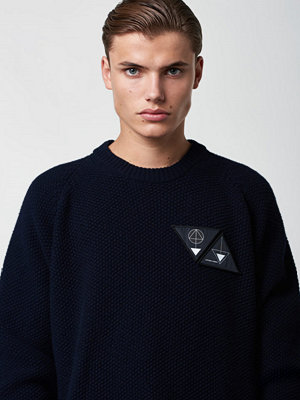 Lavage Foncé Knitted Sweater Dark Navy