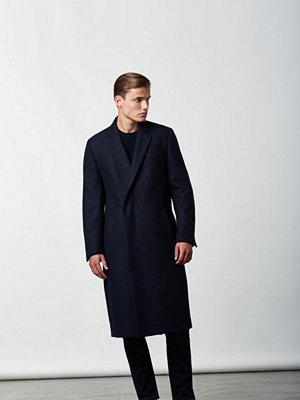 Lavage Foncé Wool Coat Navy