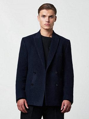 Kavajer & kostymer - Lavage Foncé DB Suit Jacket Pinstripe