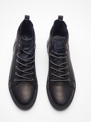 Sneakers & streetskor - Replay Grem Black