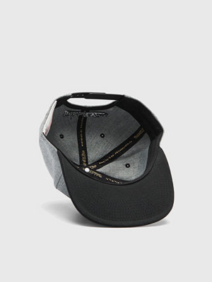 Kepsar - Mitchell & Ness M&N Box Logo Snapback Own brand Grey Heather/Black