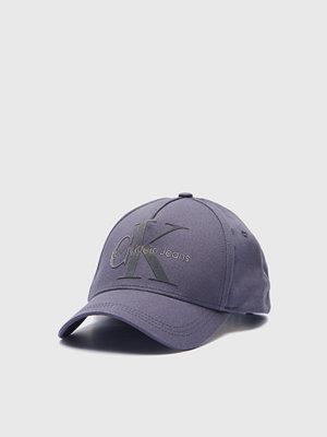 Kepsar - Calvin Klein Re-Issue Baseball Cap 015 Asphalt