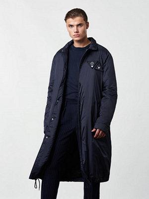 Lavage Foncé Tech Coat Navy