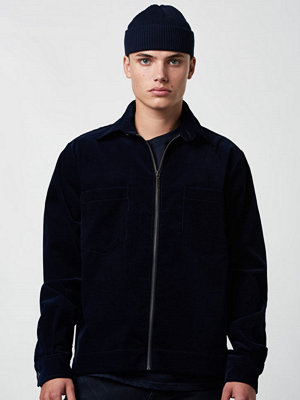 Skjortor - Lavage Foncé Zip Overshirt Cord Navy