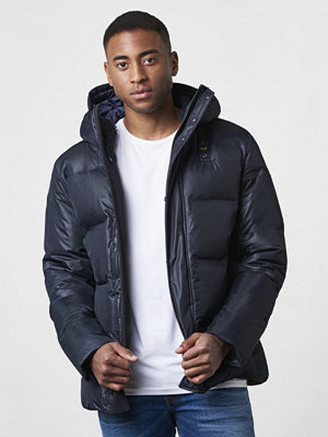 Blauer Padded Down Jacket Navy