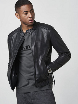 Skinnjackor - ROCKANDBLUE Brooklyn Leather Jacket Black