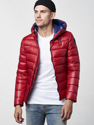 Blauer Light Weight Down Jacket Red
